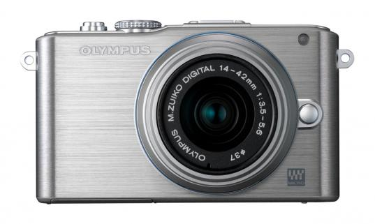Olympus PEN E-PL3 14-42mm Kit (Gümüş)