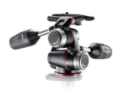 Manfrotto X-PRO 3 Way Head With Retractable Levers  Friction Controls