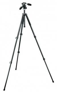 Manfrotto MK294A3-D3RC2 Aluminum Kit Tripod 3-Sections With 3-Way Head QR