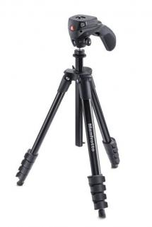 Manfrotto MK Compact Action Tripod Black