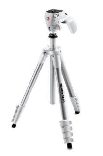 Manfrotto MK Compact Action Tripod White