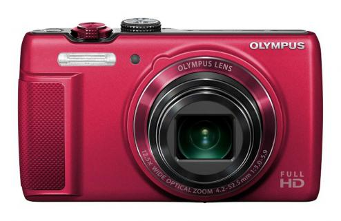 Olympus SH-21 Red 16.0 MP, 12.5x super wide zoom
