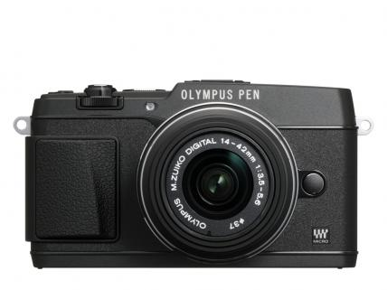 Olympus PEN Lite E-PL5 Black 16.1MP Double Zoom Kit